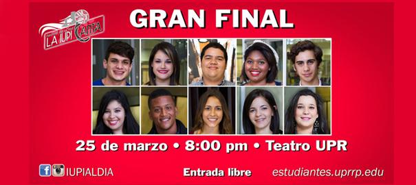 Reñida la gran final del  festival de la voz La IUPI Canta