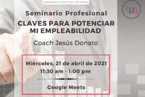 Invitación Seminario Profesional